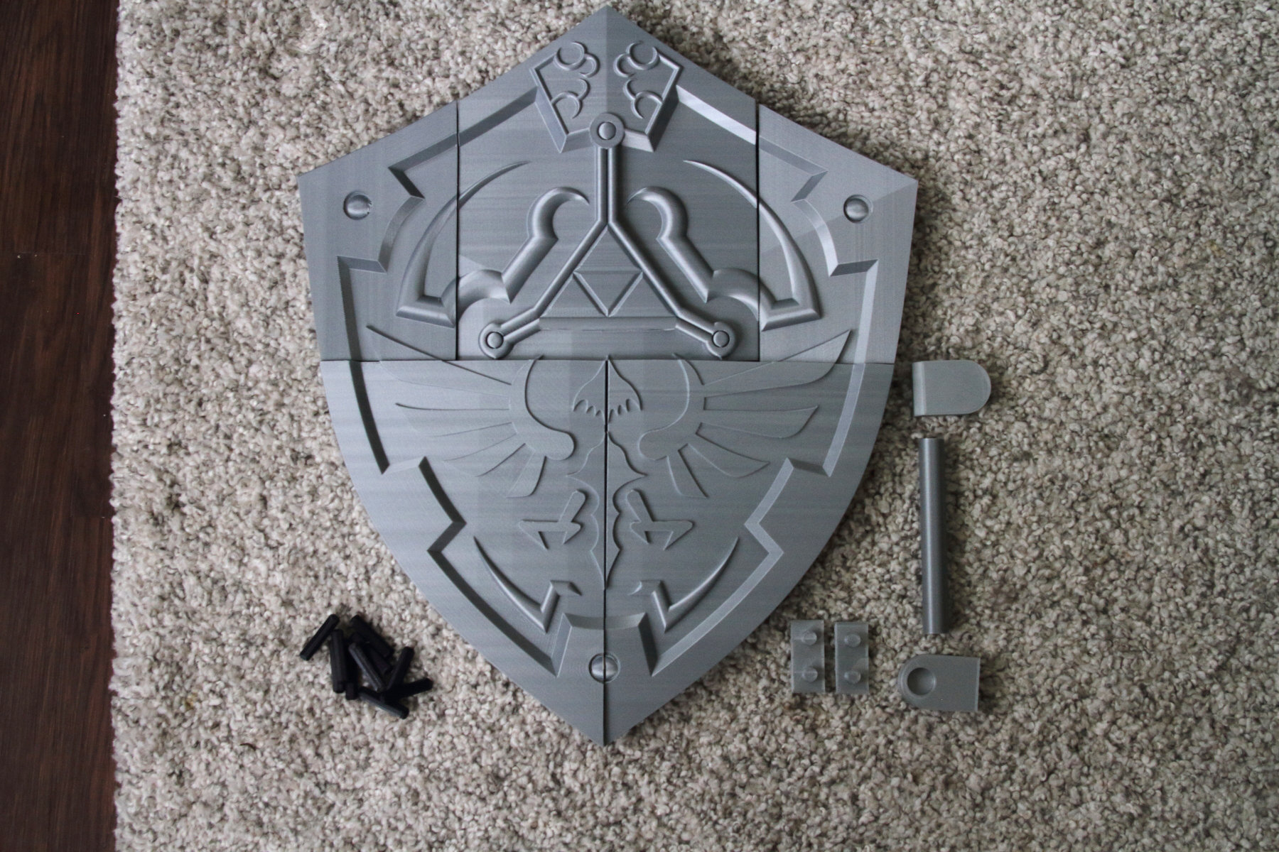 Hylian Shield Kit The Legend Of Zelda Star Forge Curios