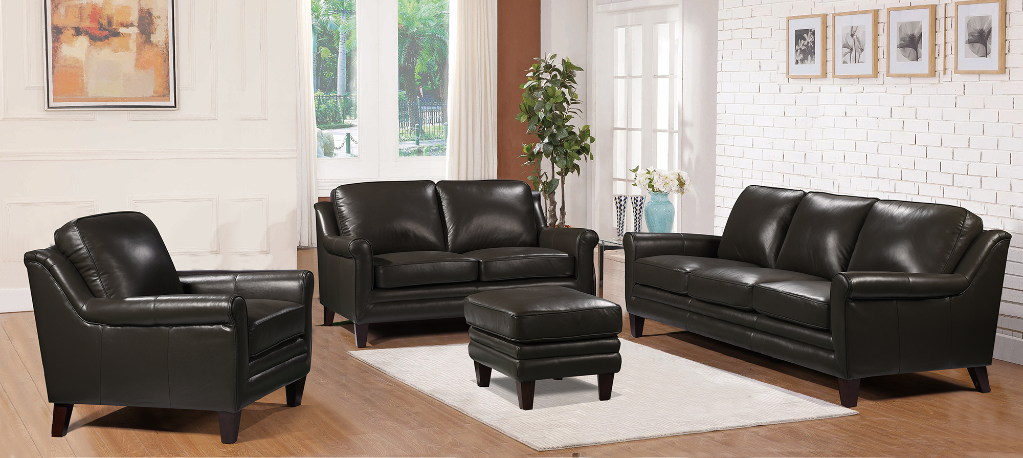 grandover leather sofa