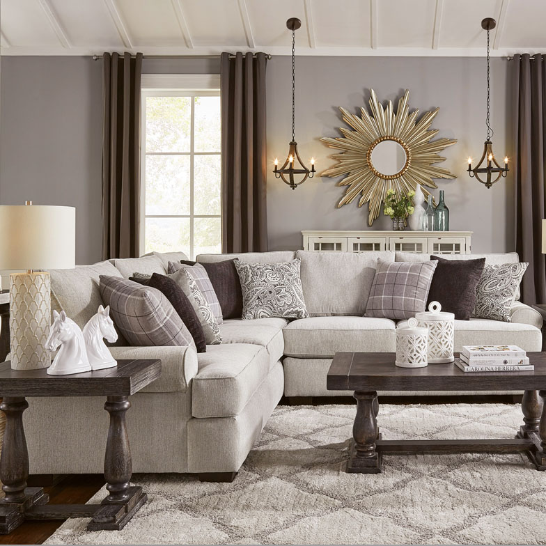 living rooms sofas tables
