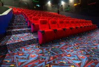 Art Pattern Theater Carpet - Stargate Cinema