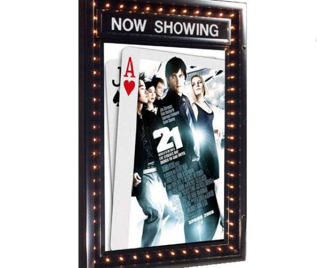 Chaselite Illuminated Poster Case With Dater