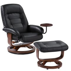 Euro Recliner Chair Buy Covers Australia Quick Ship Swivel Recliners Stargate Cinema Black Leather And Ottoman