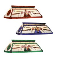 Billiard Stained Glass Pool Table Light - Stargate Cinema