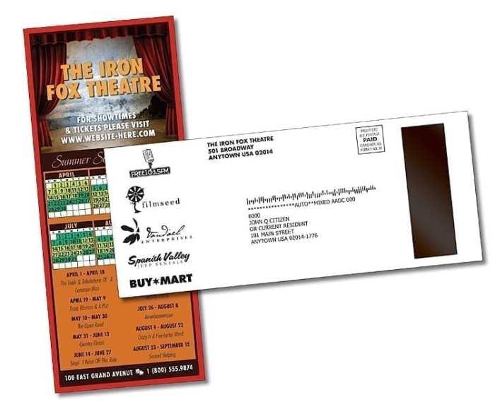 Postcard with Magnet 2803001U