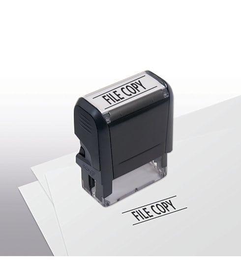 File Copy Stamp - Self-Inking