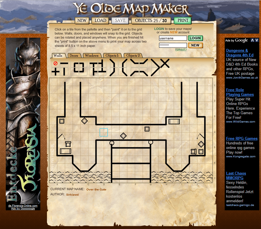 Ye Olde Map Maker | Stargazer's World