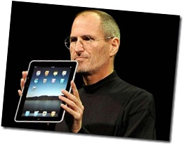Steve Jobs presents the iPad