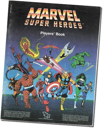 Marvel Super Heroes Players' Book