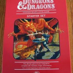Dungeons & Dragons Red Box 4E Box Top