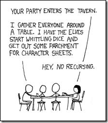 Recursive Gaming