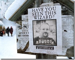 Wanted Poster (Harry Potter Style)