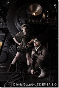 Steampunks by Kyle Cassidy. Used under Creative Commons Attribution-Share Alike 3.0 Unported