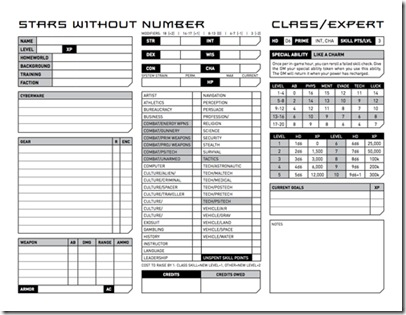 Star Wars Character Sheet Pdf