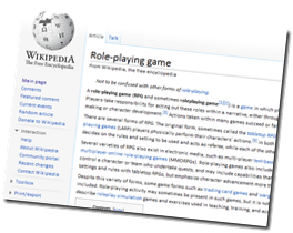 What is a Role-Playing game?