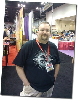 Michael at GenCon 2010