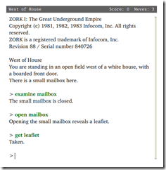 Zork_I_screenshot_video_game_Gargoyle_interpreter_on_Ubuntu_Linux