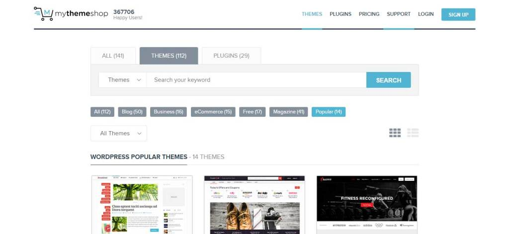 mythemeshop theme page