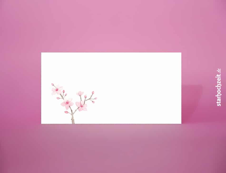 Briefumschlag Für Hochzeitseinladungskarten Und Danksagungskarten