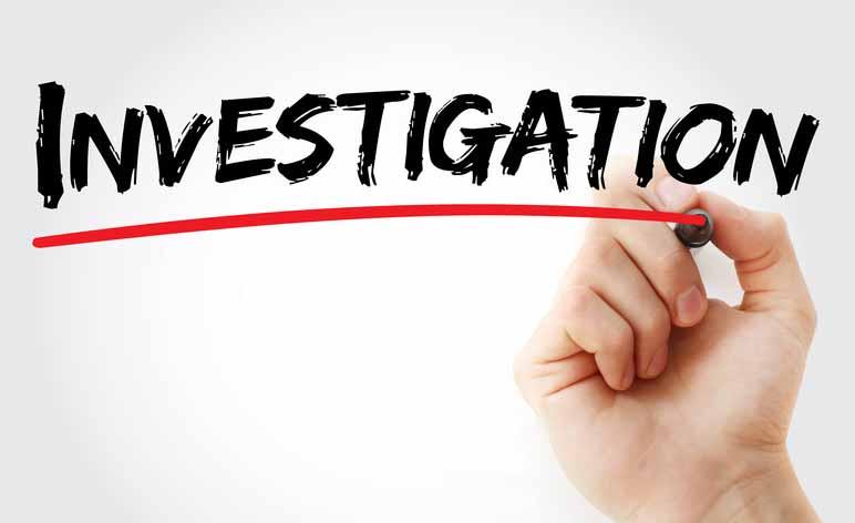 Image result for under investigation