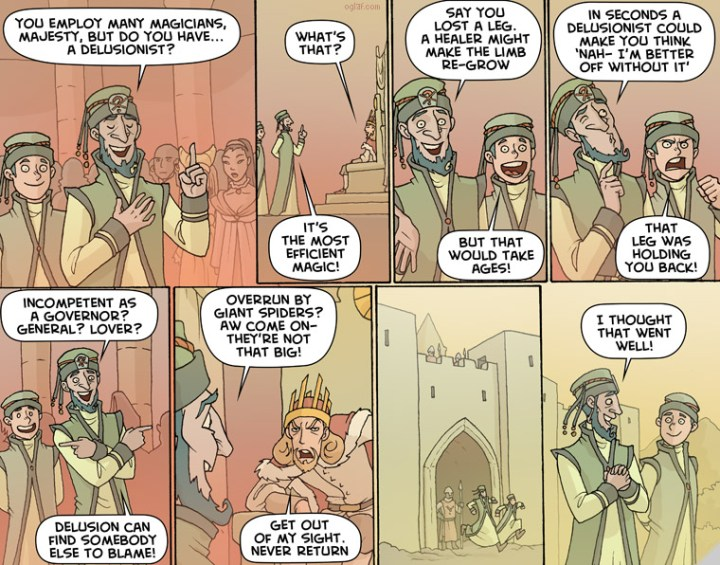 From the webcomic Oglaf - check it out through the link in the text or the sidebar - it's hilarious but mostly NSFW