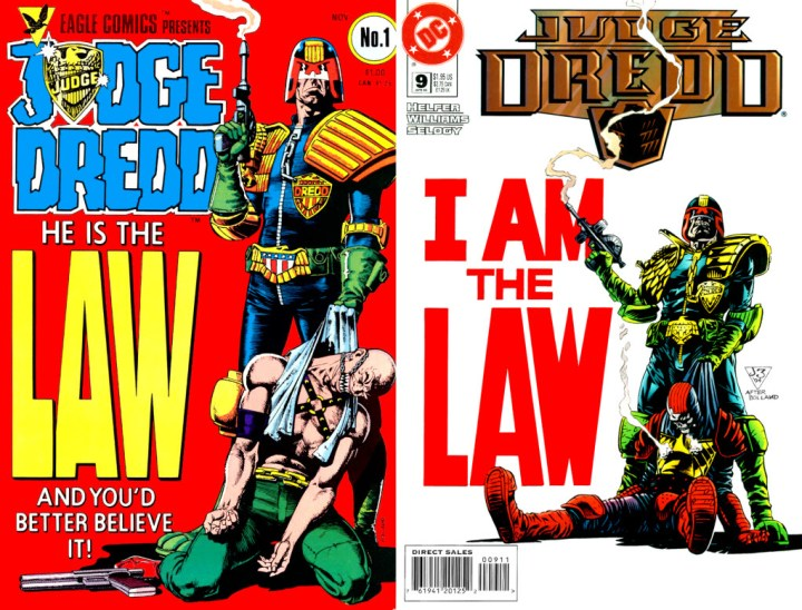 Judge Dredd. He is the Forms!