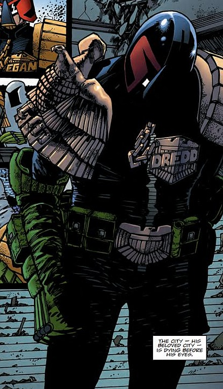 Gruddamnit 2000 AD - I said you tore my heart out!