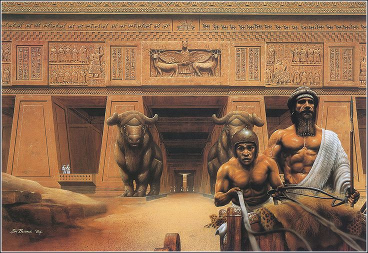 Trials and tribulations in the stories gilgamesh and the odyssey