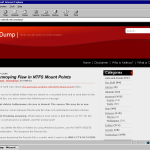"""Core Dump"" in Internet Explorer 6 in Windows NT 4.0"