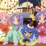 lucky star - christmas around the tv