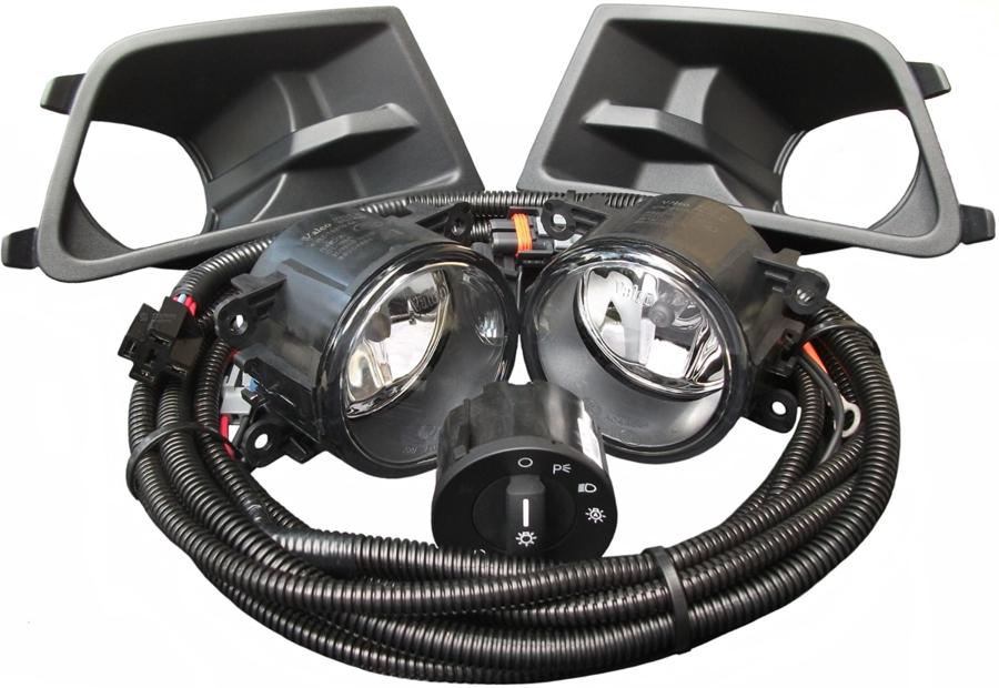 2011 Mustang Headlight Wiring Diagram V6 Mustang Oem Style Fog Light Kit 2010 2012 Starkey