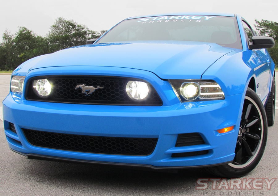 Ford Hid Headlights Wiring Diagram Mustang Gt Style Led Fog Light Kit Fits V6 And Boss 302