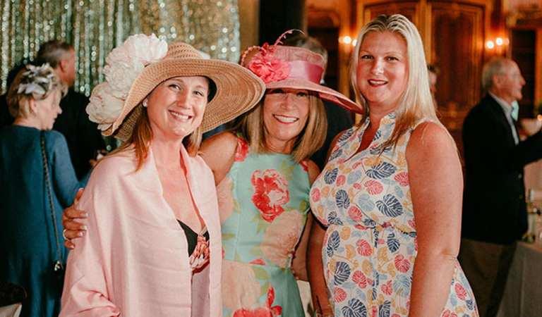 Derby18Cindy,Rachel and friend