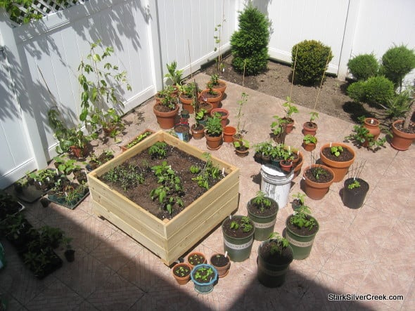 Planter Box Plans Vegetable Garden