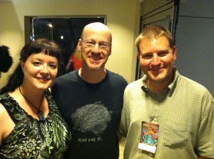 Me, Phil Plait, Scott