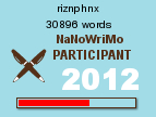 NaNoWriMo Word Count - 18 Nov 2012