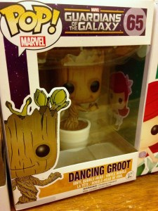 Dancing Groot Pop Figure