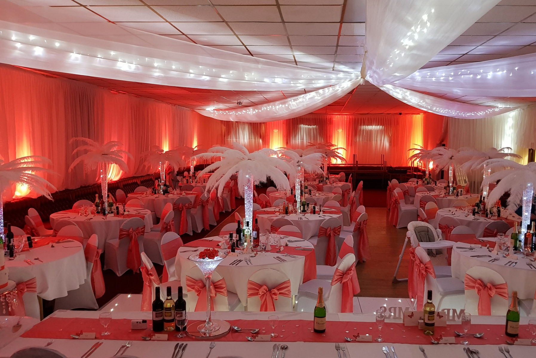 chair cover hire south wales graco high blossom starlight events home