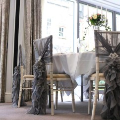 Chair Covers For Hire South Wales Aeron Task Cover Starlight Events Limewash Chiavari With Grey Hood