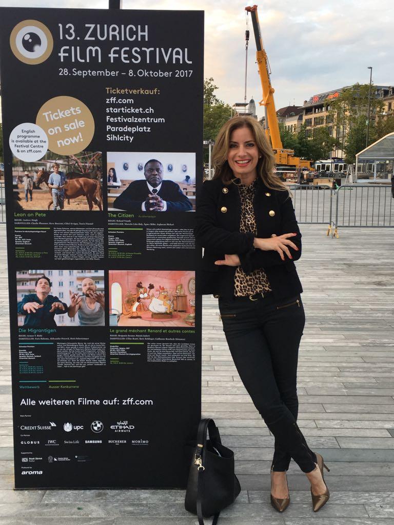 Isabel Florido moderiert das 13. Zürich Film Festival