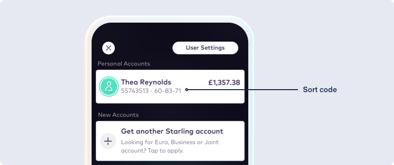 Bank accounts explained: Sort code and account number - Starling Bank