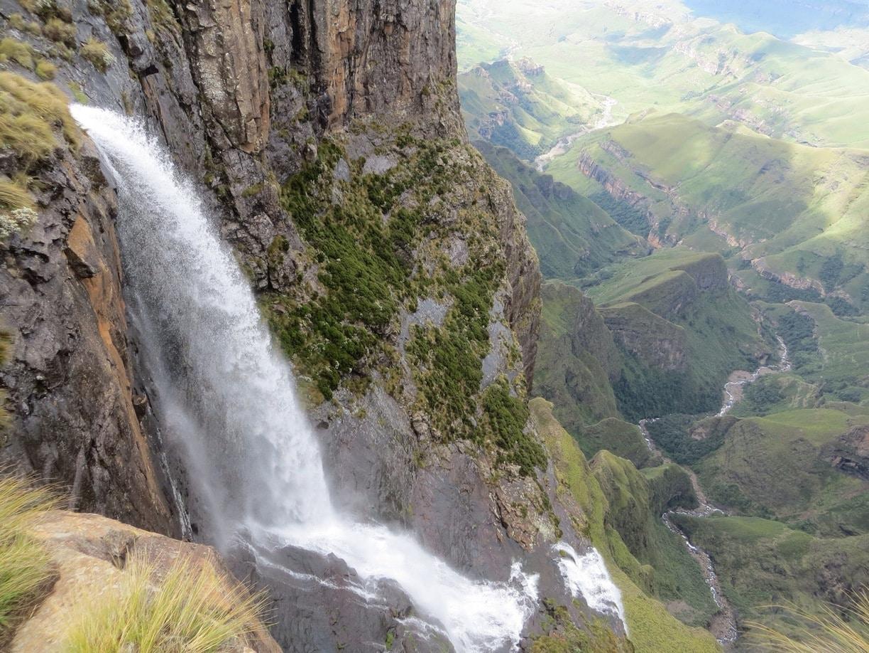 Tugela Falls in KwaZulu Natal Province, South Africa
