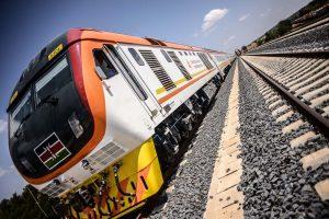 Madaraka Express on Kenya's standard gauge railway