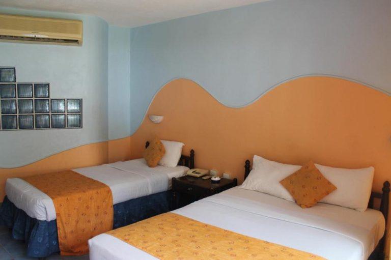 A room at Sun N Sand Beach Resort