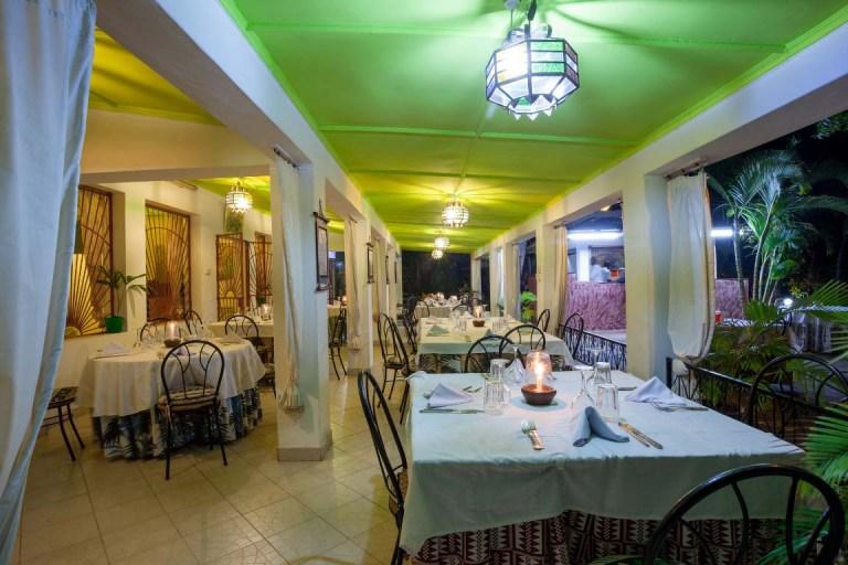 Restaurant at Seaview Resort.