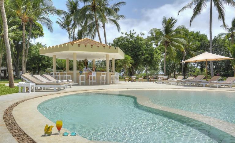 Swimming pool at Malindi Dream Garden.