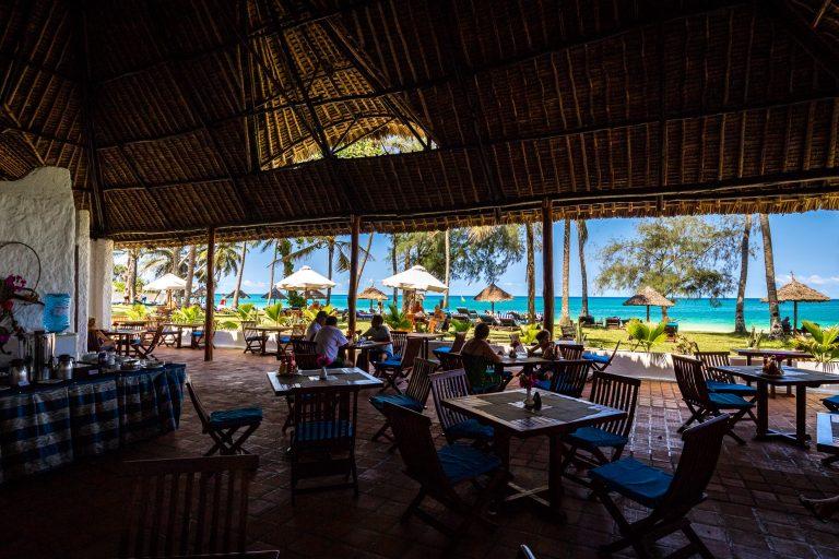 Restaurant at Diani Sea Lodge