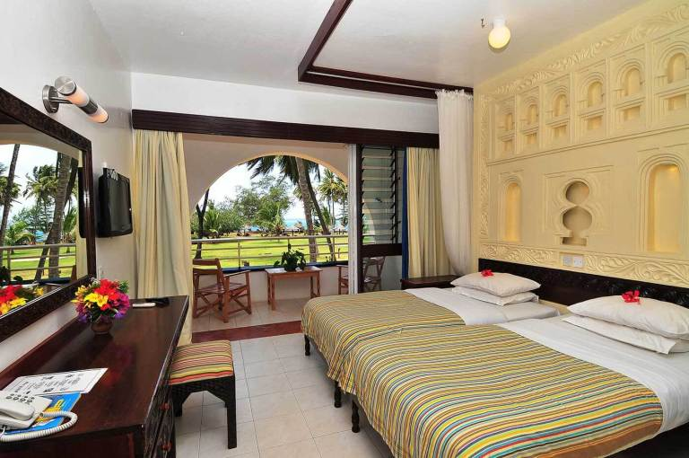 A room at The Reef Hotel Mombasa