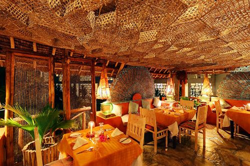 Restaurant at Turtle Bay Beach Resort.