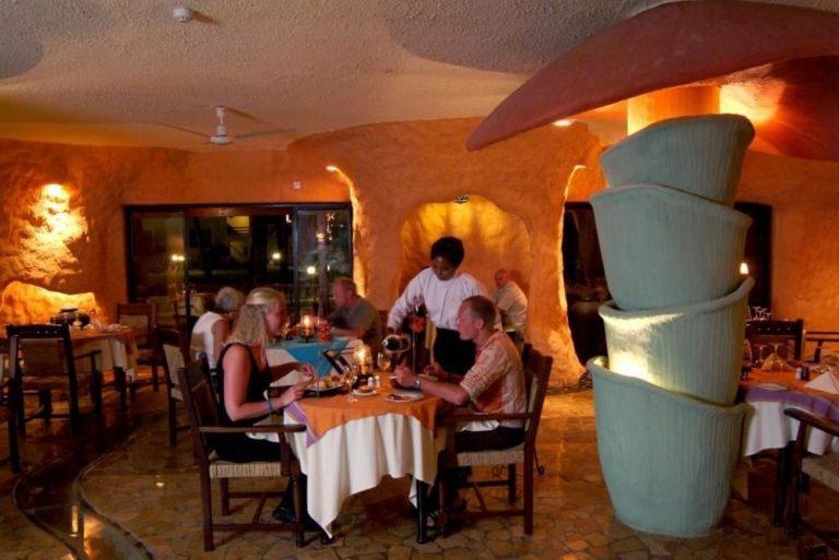 Dining at Bamburi Beach Hotel
