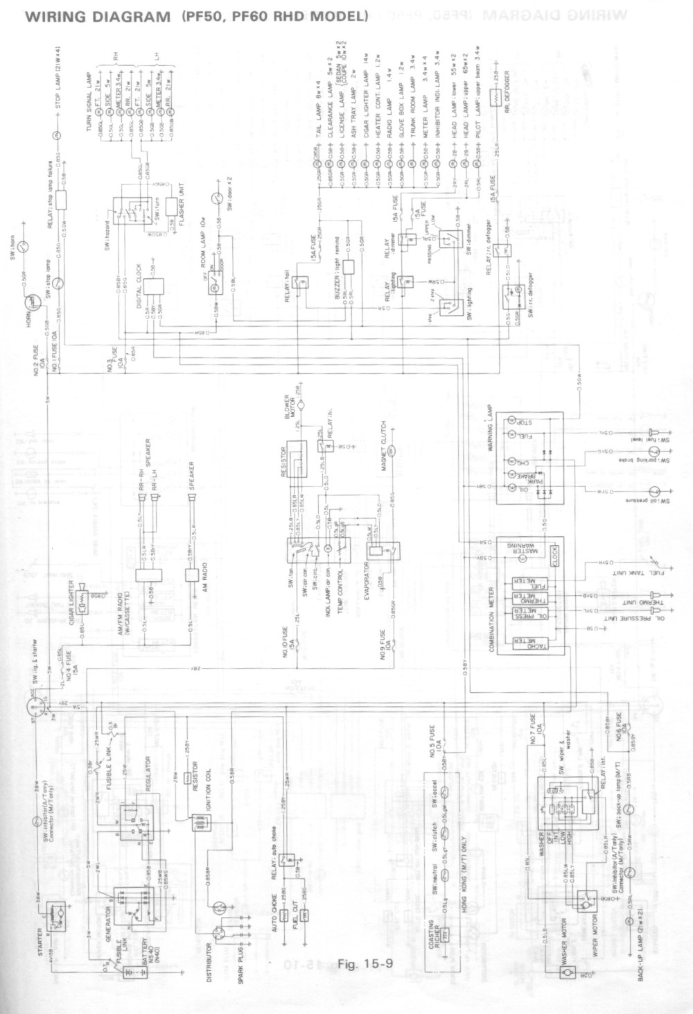 medium resolution of isuzu gemini wiring diagram wiring diagram schematics rh ksefanzone com isuzu rodeo radio wiring diagram isuzu